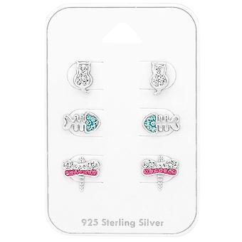 Animal - 925 Sterling Silver Sets - W38729X