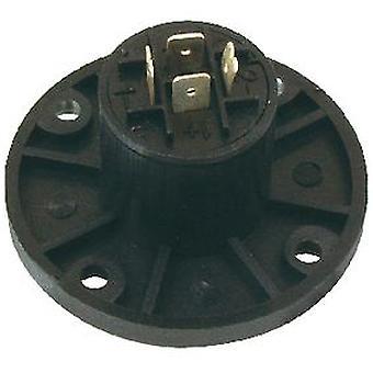 Valueline 4 контактный разъем динамика ПВХ черный (DIY, электричество)