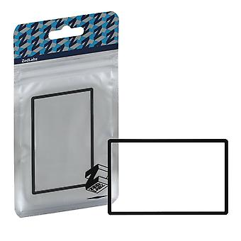 Replacement top screen lens plastic cover for nintendo 2ds - black