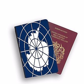 ANTARCTICA Flag Passport Holder Style Case Cover Protective Wallet Flags design