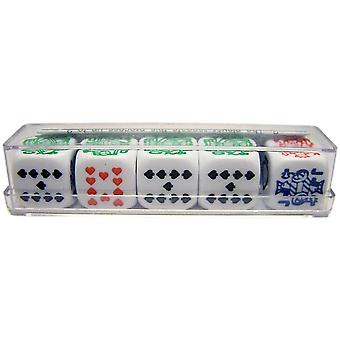 Poker Dice in Kunststoffbox