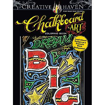 Dover Publications-Creative Haven Chalkboard Art DOV-80210