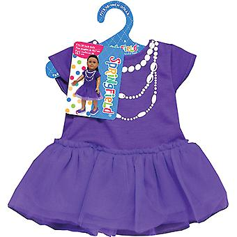 Springfield Collection Casual Dress Purple 497029Fs