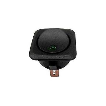 Car toggle switch 12 Vdc 25 A 1 x Off/On latch SCI