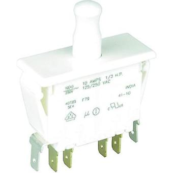 Pushbutton 250 Vac 10 A 2 x On/(On) Cherry Switches