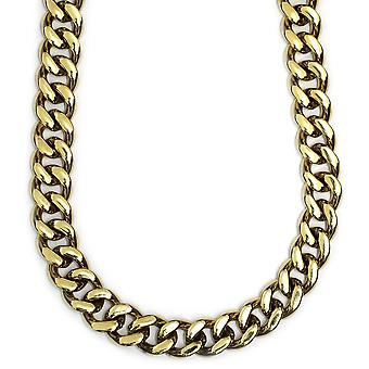 Gold Plated XL Miami Cuban Link Chain 12mm x 38 inches