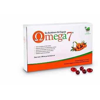 Pharma Nord Omega 7 - Sea Buckthorn Oil (omega 3, 6, 7 & 9) 60 caps