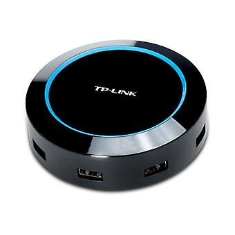 TP-Link USB charging station, 100-240V USB to 5V, 8A, 4xUSB A, black