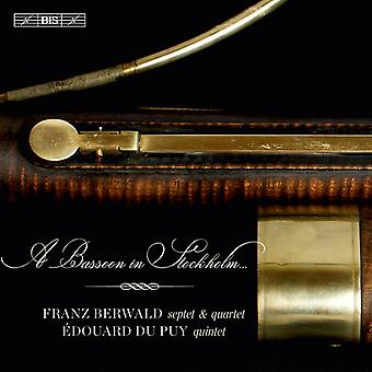 Berwald / Du Puy / Agrell / Coppola / Zwart - Bassoon in Stockholm [SACD] USA import