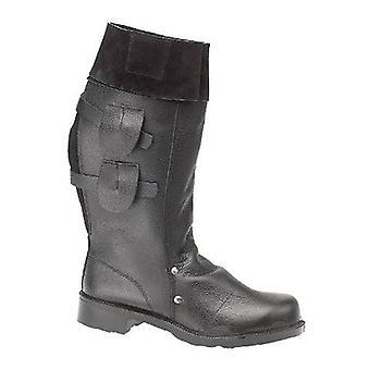 Amblers stål FS132 trekke på støvlene selv foret skinn gummi Slip på festing