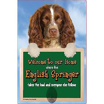 Scottish Collectables English Springer 3D Lead Hanger Wall Plaque