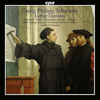 G.p. Telemann - Telemann: Luther Kantaten [CD] USA import
