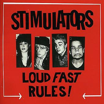 Stimulators - Loud Fast Rules! [CD] USA import