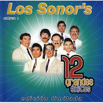 Los Sonor - Los Sonor: Vol. 2-12 Grandes Exitos [CD] USA importar