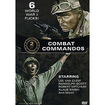 Bekæmpe kommandosoldater [DVD] USA import
