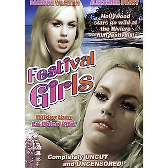 Festival Girls [DVD] USA import