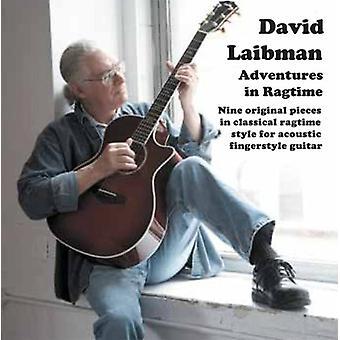 David Laibman - eventyr i Ragtime Guitar [CD] USA import