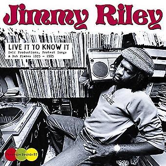 Jimmy Riley - Live det at vide det [CD] USA import