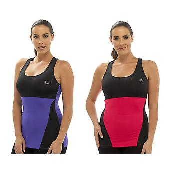 2Pk damer Tom frankerne to Tone Sport Gym Top mode Vest sportstøj