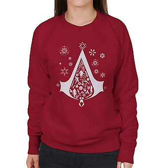 Juletræ Assassins Creed kvinders Sweatshirt