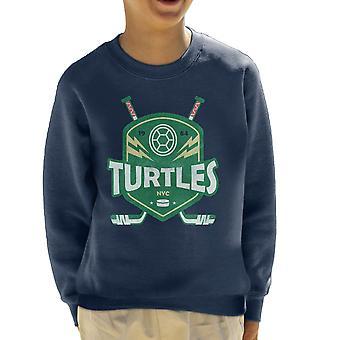 Turtles Hockey Emblem Kids tröja