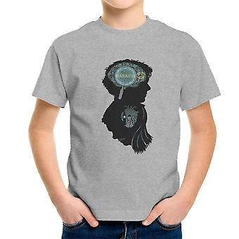Sinne och hjärta Sherlock Holmes sinne Palace London Kid's T-Shirt