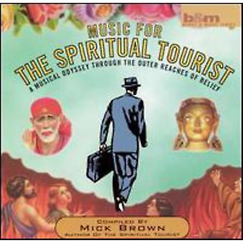Mick Brown - musik for åndelig Touris [CD] USA importen