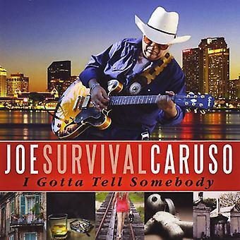 Joe Survival Caruso - I Gotta Tell Somebody [CD] USA import