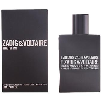 Zadig & Voltaire This Is Him Eau De Toilette Vapo 50 ml