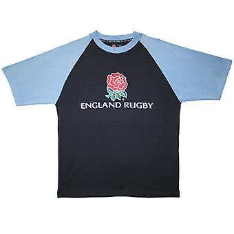 RFU england logo t-shirt [navy/sky]