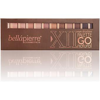 Bellapierre Cosmetics Eyeshadow Palette color Go Natural (Make-up , Paletten)