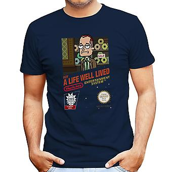 Rick and Morty Roy A Life Well Lived Men's T-Shirt
