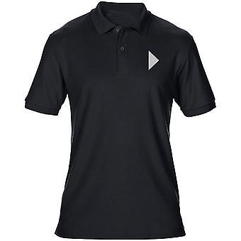 London regementet broderade TRF Logo - officiella brittiska armén Mens Polo Shirt