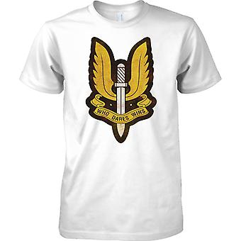 Insegne SAS - Who Dares Wins - forze speciali UK - Kids T Shirt