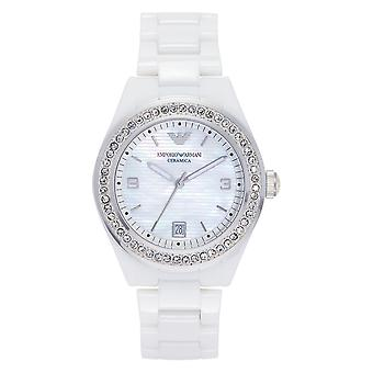 Armani Watches Ar1426 Ladies White Ceramic Watch