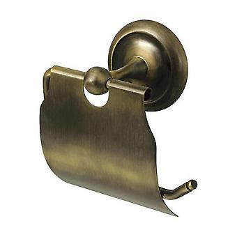 Retro Bathroom Antique Brass Wall Mounted Toilet Paper Rack WC Roll Holder