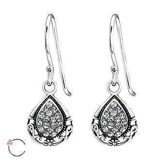 Tear Drop crystal from Swarovski® - 925 Sterling Silver Earrings - W24399X