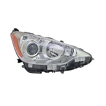 TYC 20-9281-00-1 Toyota Prius C Right Replacement Head Lamp