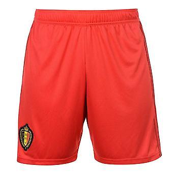 2018-2019 Belgium Home Adidas Football Shorts (Red)