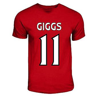 Ryan Giggs del Manchester United Héroe T-shirt (rojo)