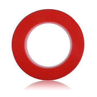 double-sided mounting tape 33 m x 3 mm-Red