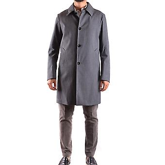 Allegri men's MCBI427003O grey polyester coat