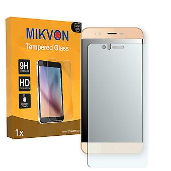 Accent Speed Y2 (2017) Screen Protector - Mikvon flexible Tempered Glass 9H (Retail Package with accessories)