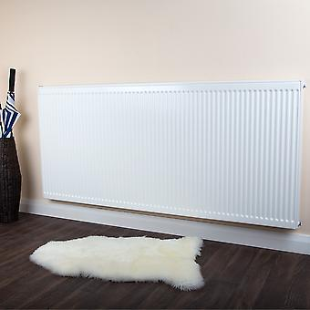 Compact Convector Radiator - Horizontal - Single Type 11 - White - H900xW1100mm