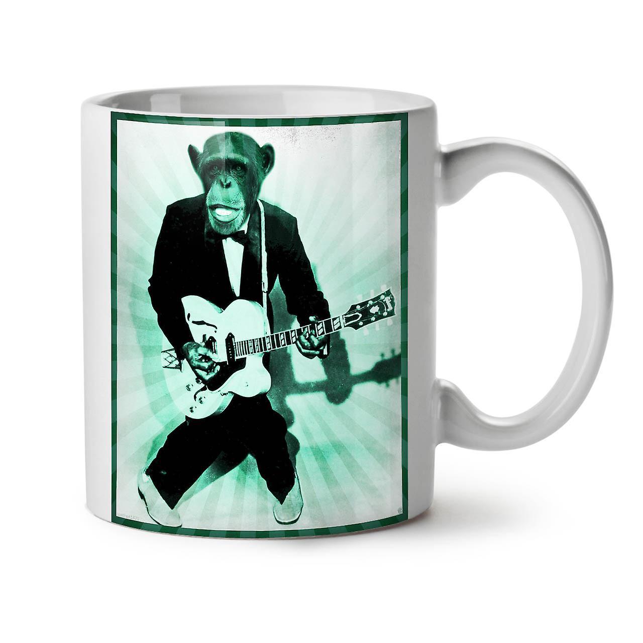 Thé Pour Café 11 Guitare Tasse Mokey OzWellcoda Nouveau Céramique Musique Blanc lKJ1cF