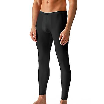 Mey 46142-123 Men's Dry Cotton Black Solid Colour Ankle Length Leggings