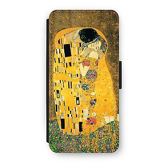 iPhone 5/5S/SE Flip Case - Der Kuss