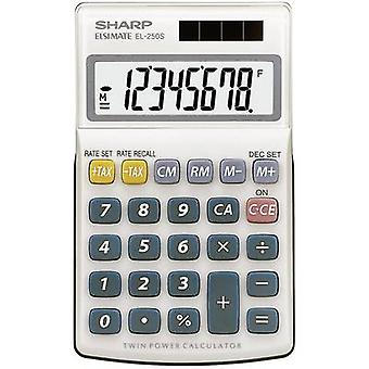CALCULATOR EL-250 S Sharp EL250S White, Blue