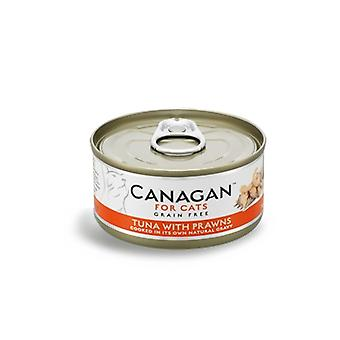 Canagan 75g Tuna with Prawns Cat Wet Food Can - 75g Can