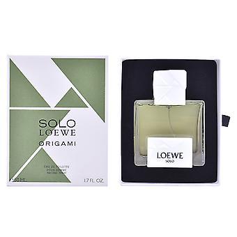 Loewe Solo Loewe Origami Edt Spray 100 Ml para hombres